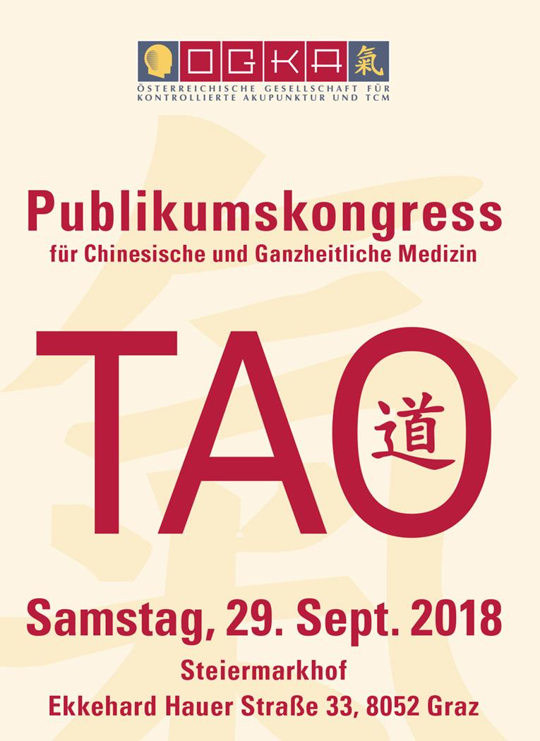 TCM-Publikumskongress Samstag 29.9., 9:00 – 14:00 Uhr